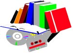 Get rid of  old books, CD's etc